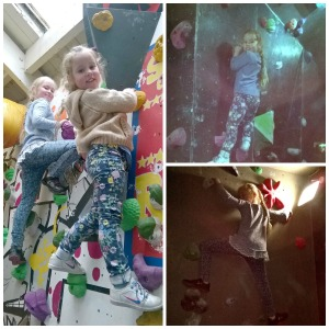 climbing collage