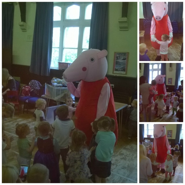 peppa collage